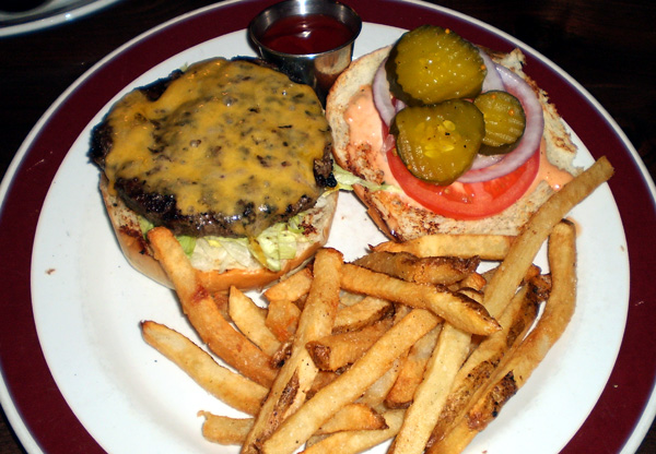 Founding Farmer's The Fresh-Ground Cheeseburger