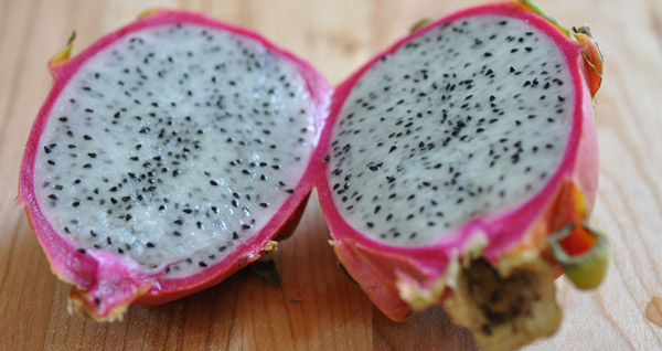 pictures of fruit how to cut dragon fruit