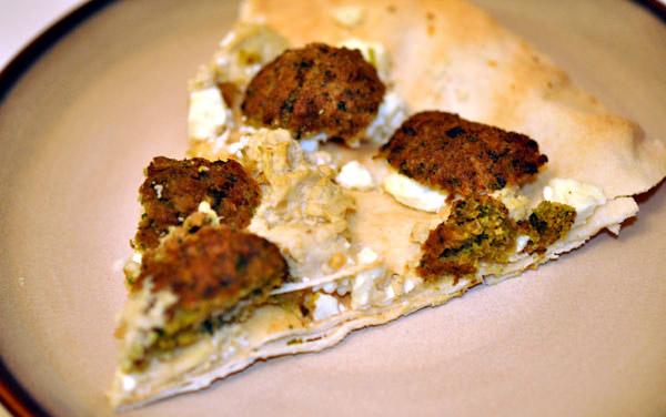 Resultado de imagen para pizza de falafel