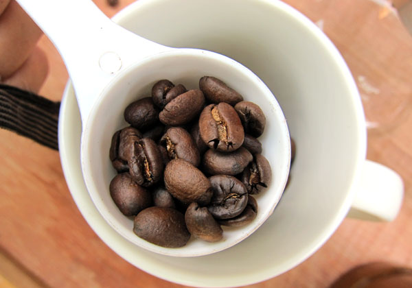 Coffee beans from Nepal